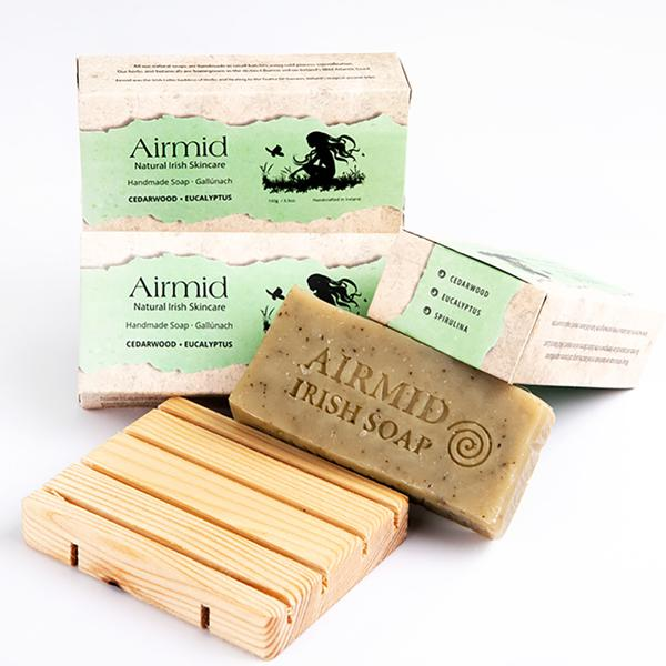 Cedar wood & Eucalyptus Soap