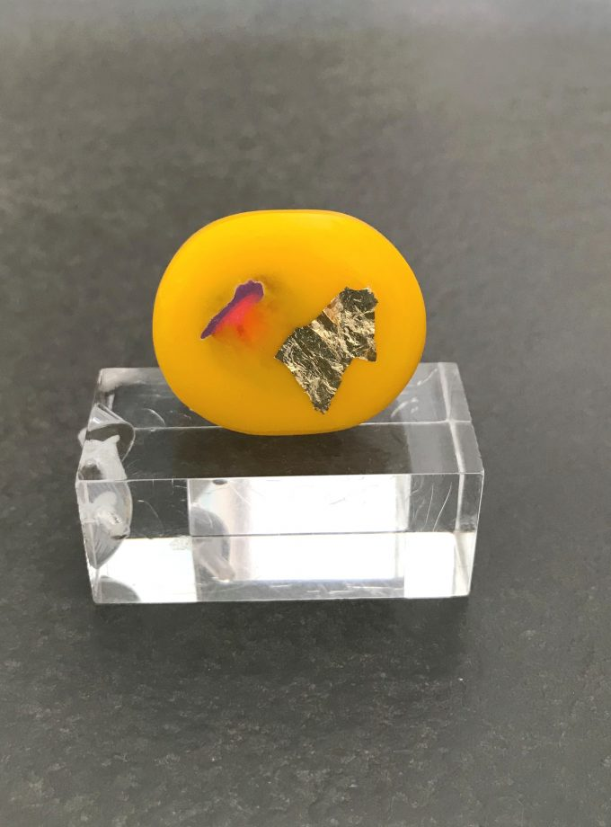 Yellow Resin Ring