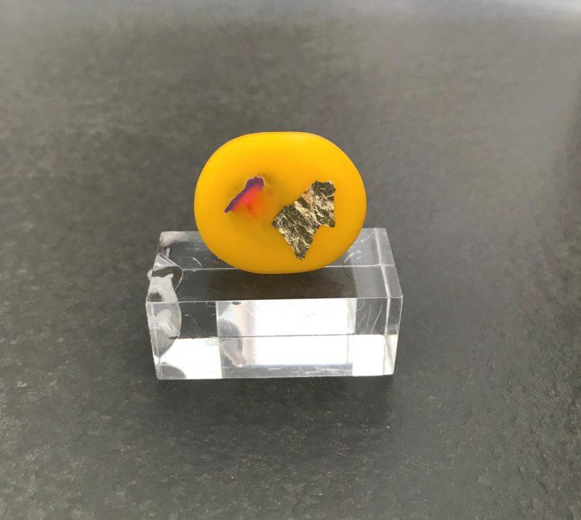 Yellow Resin Ring
