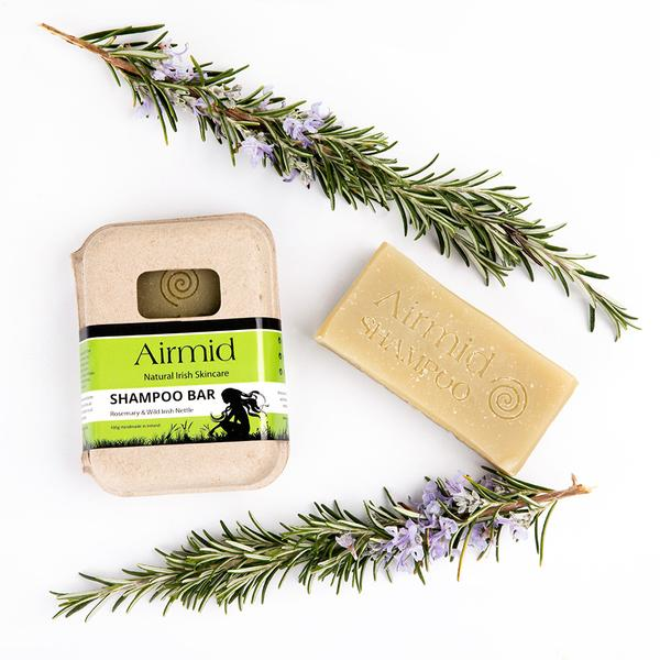 Natural Rosemary & Wild Nettle Shampoo Bar