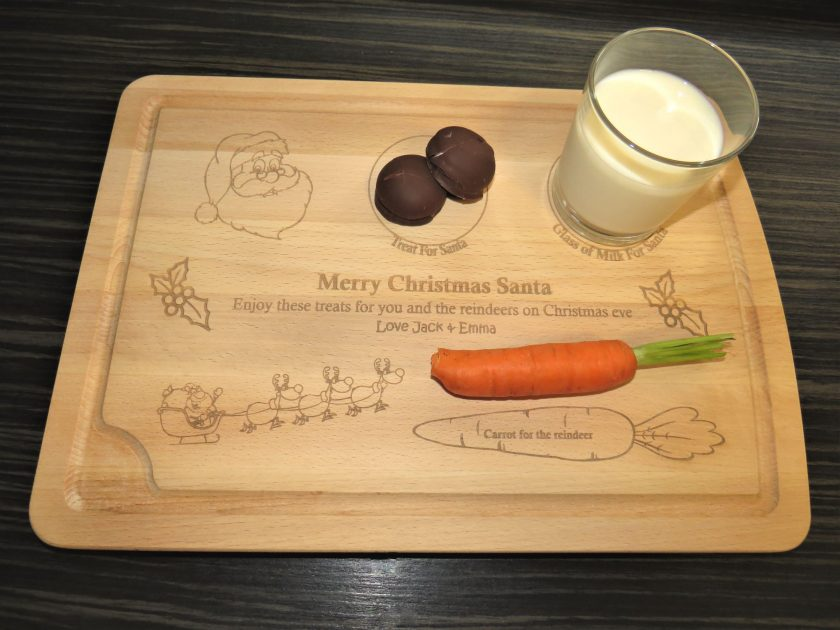 Wooden Christmas Eve Board