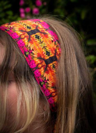 Autumn Blaze Headscarf