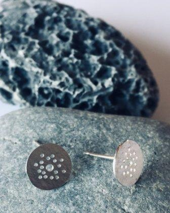 Berina Kelly Circle Collection Stud Earrings